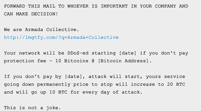 Businesses pay $100,000 to DDoS extortionists who never DDoS anyone