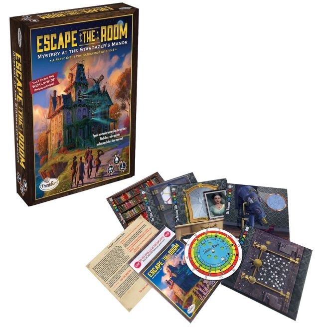 "Bring an ""escape room"" into your living room... for $22"