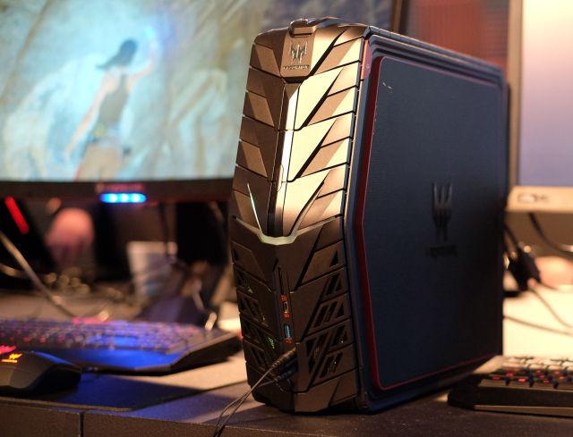 Acer Predator G1 Crams An Nvidia Titan X Into A Briefcase