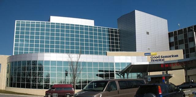 MedStar's Good Samaritan Hospital in Baltimore, one of 10 affected by a ransomware attack taking out MedStar's servers.