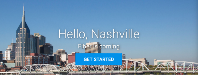 Well, fiber <em>wants</em> to come, Nashville.