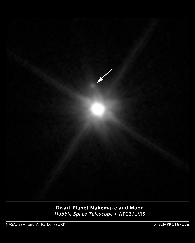 Hubble spots a Makemake moon | Ars Technica