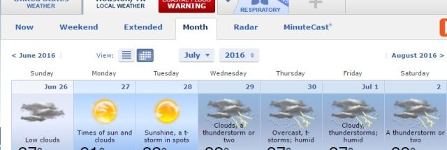 AccuWeather issues 90-day forecasts and meteorologists are