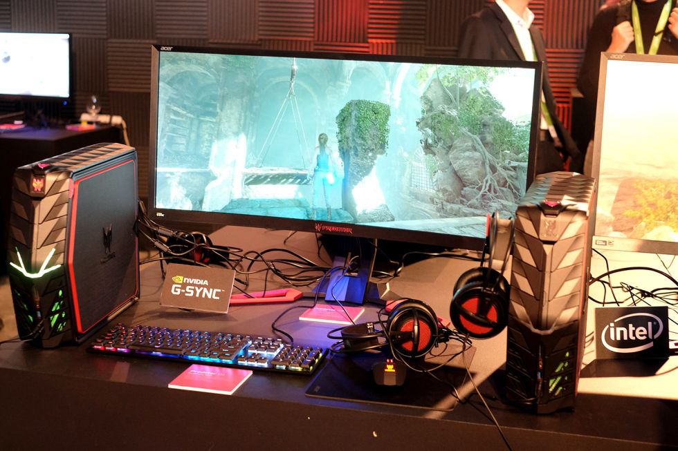 Acer Predator Z1 curved monitors bring 21:9, 200Hz, and G-Sync to the masses