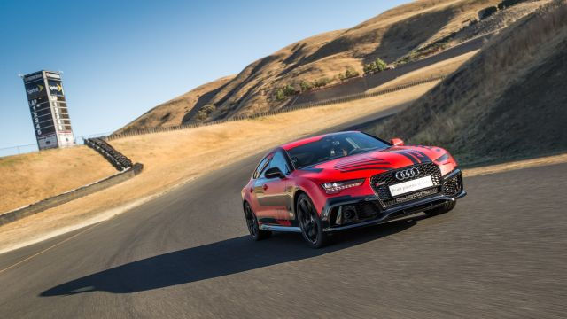 Audi has tested a number of autonomous cars at the race track. There was Shelley, a TTS it built with the Revs program at Stanford. And a pair of autonomous RS7s have given demos and passenger rides at Hockenheim in Germany and the Sonoma Raceway in the US.