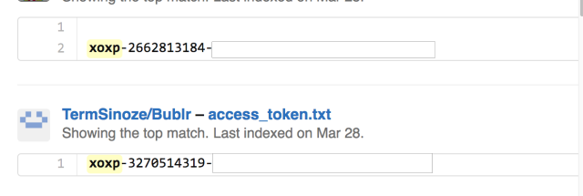 Hacking Slack accounts: As easy as searching GitHub