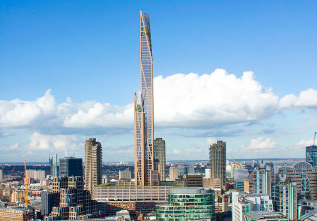 Timber! Wooden skyscraper proposed for central London