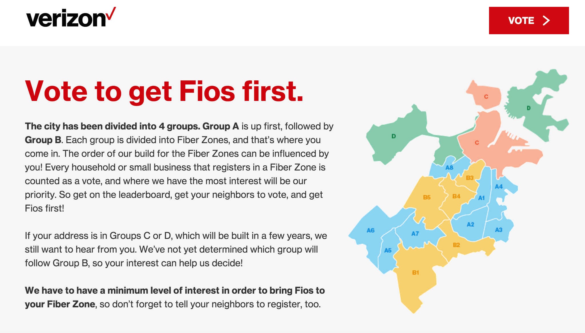 100 Verizon Fios Internet Coverage Map New Coverage Map Now Shows Part