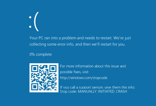 Microsoft adds QR codes to BSODs in new Windows 10 preview build