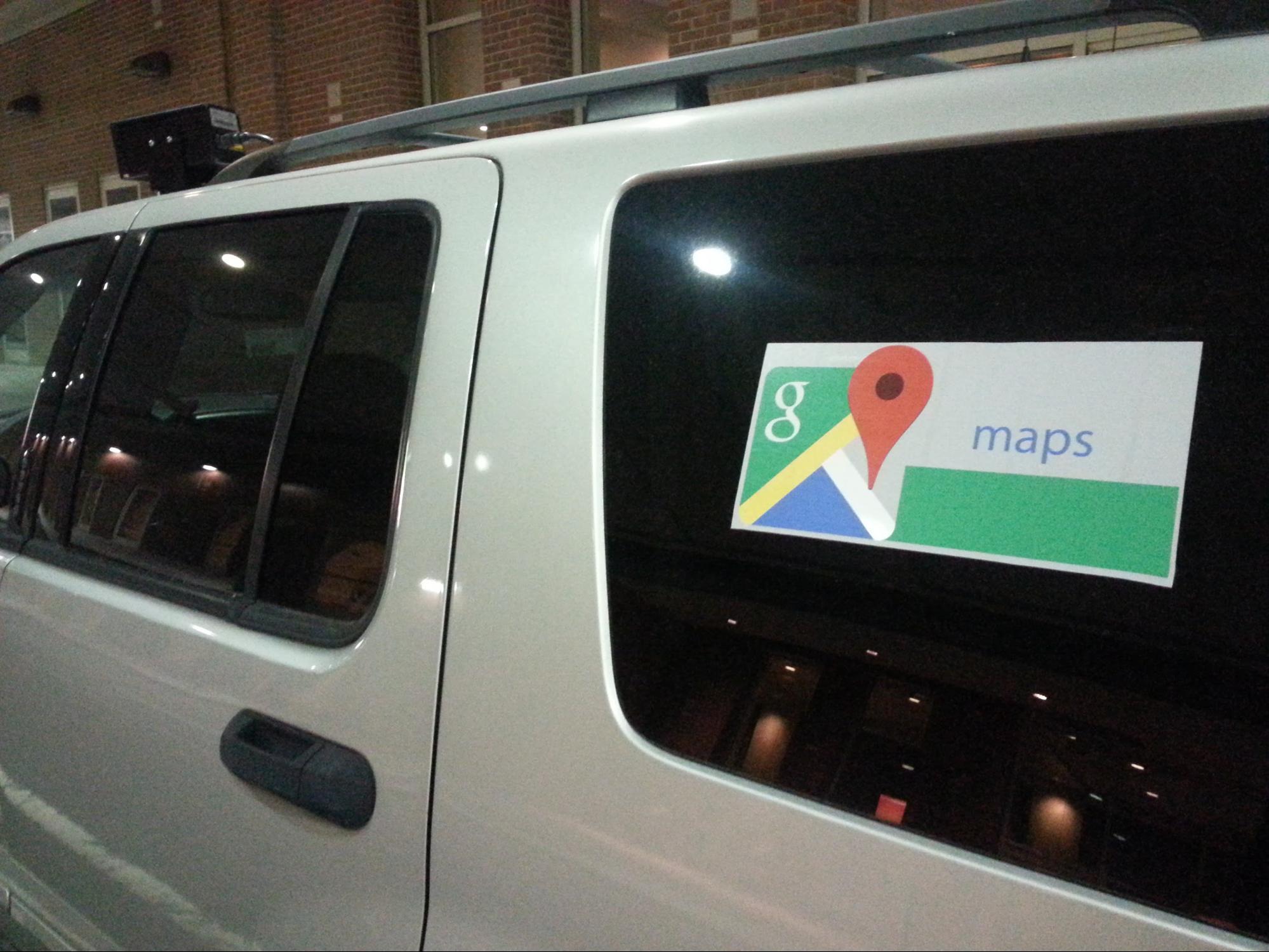 Philadelphia Cops Admit They Put Google Maps Sticker On