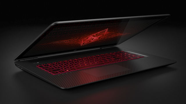 "17.3"" HP Omen laptop."