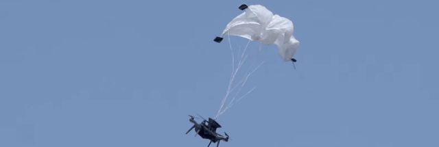 New drone parachute saves falling drones—and the people under them | Ars Technica