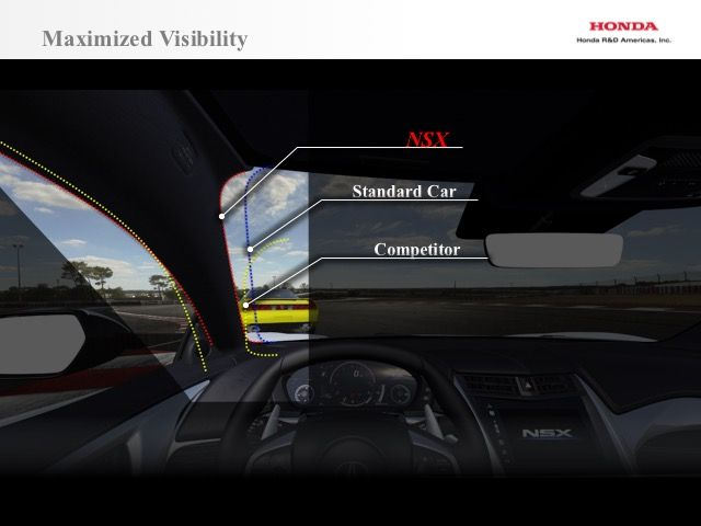 """Thanks to """"3DQ,"""" you can actually see out of the new Acura NSX"""