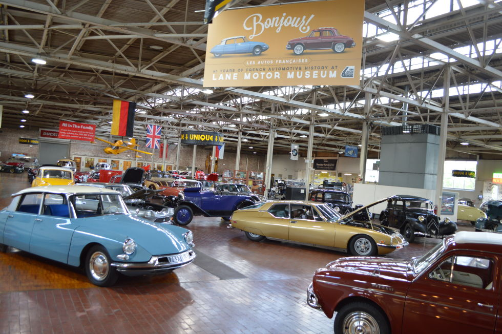 The auto engineering marvels at the Lane Motor Museum are ...