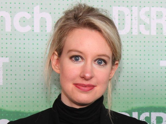 Theranos CEO and founder Elizabeth Holmes.