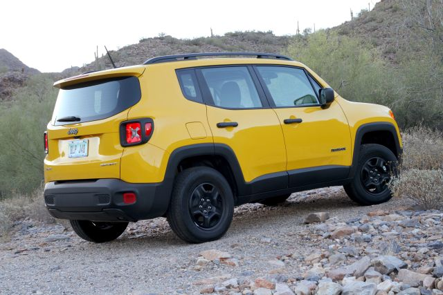 Jeep's new Renegade: Simplicity is its own reward