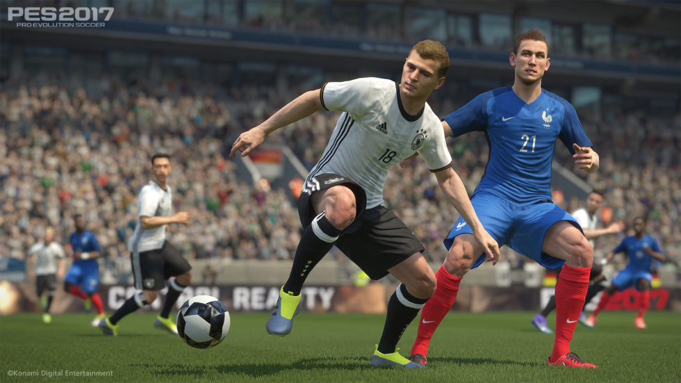 PES 2017: Soccer simulation, not soccer game
