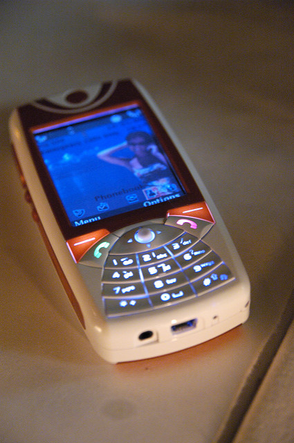 SavaJe phone in 2006.