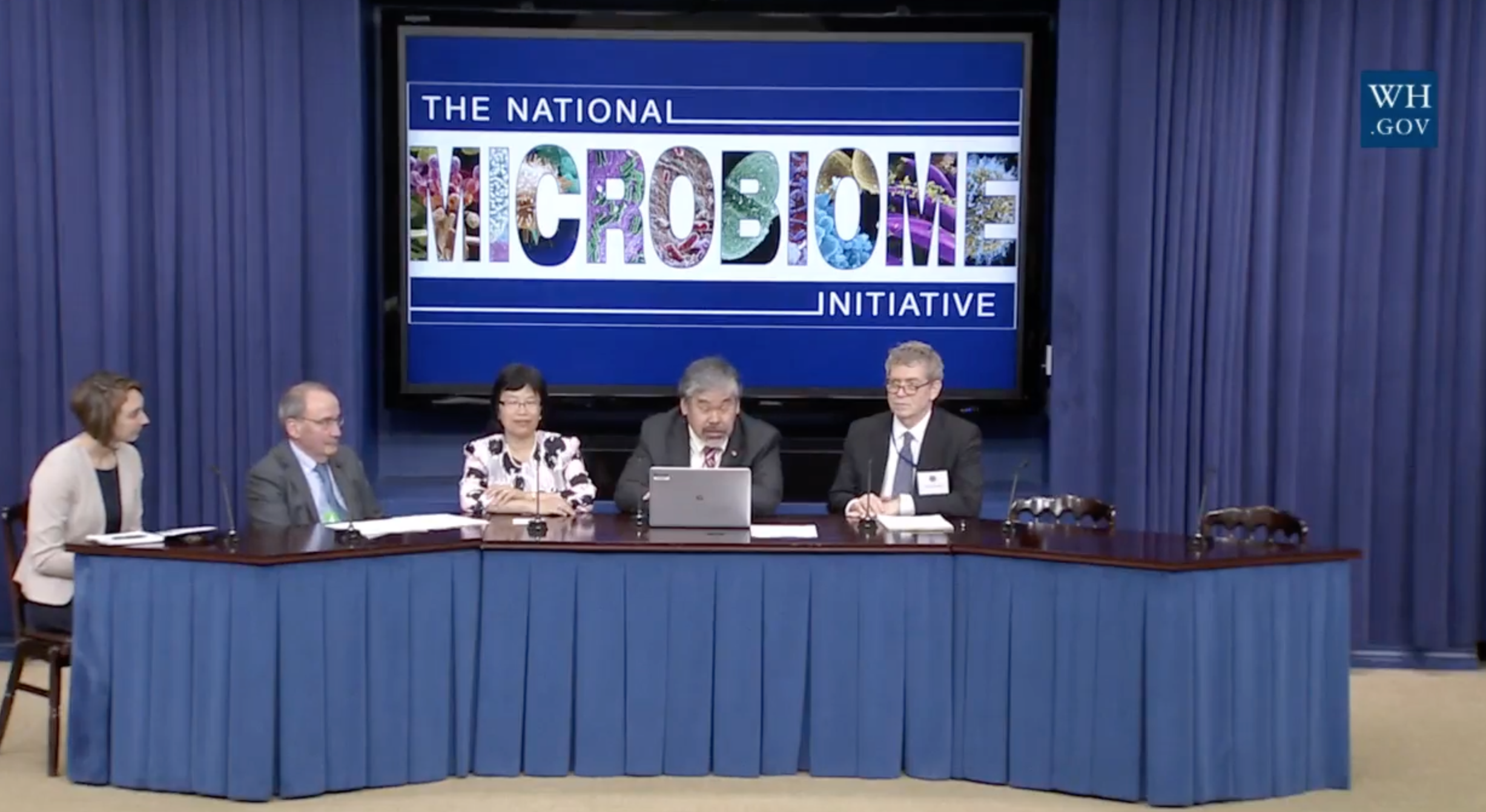 The White House announces $121 million Microbiome Initiative