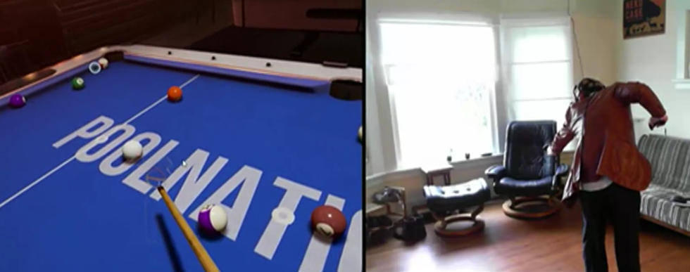 How can billiards work in VR? PoolNation has an answer
