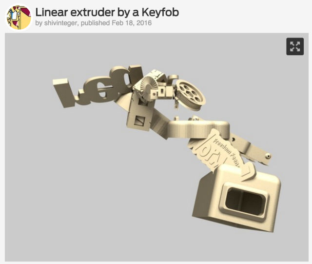 That time a bot invaded Thingiverse and created weird new 3D