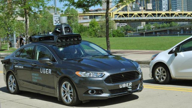 Uber to begin testing self-driving cars in Pittsburgh