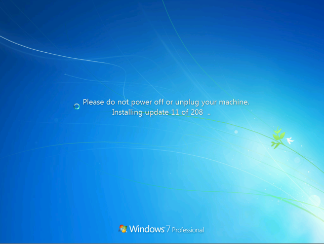 windows 7 will not download updates