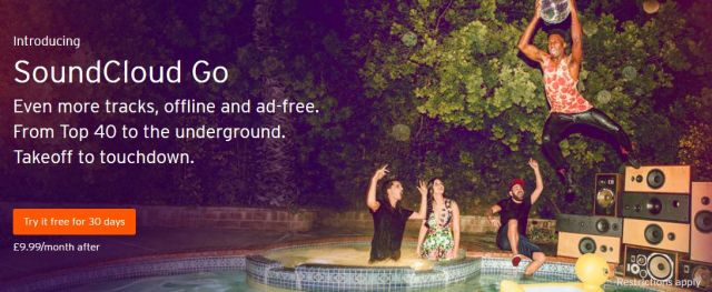 SoundCloud launches Go service in UK, Ireland—stuffs ads into free version