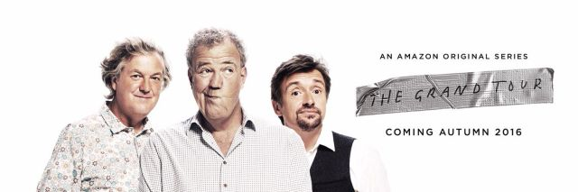 Ex-Top Gear trio's new Amazon show will be called The Grand Tour