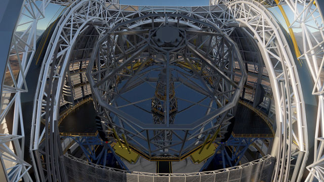 The European Extremely Large Telescope is, indeed, extremely large at 39 meters across.