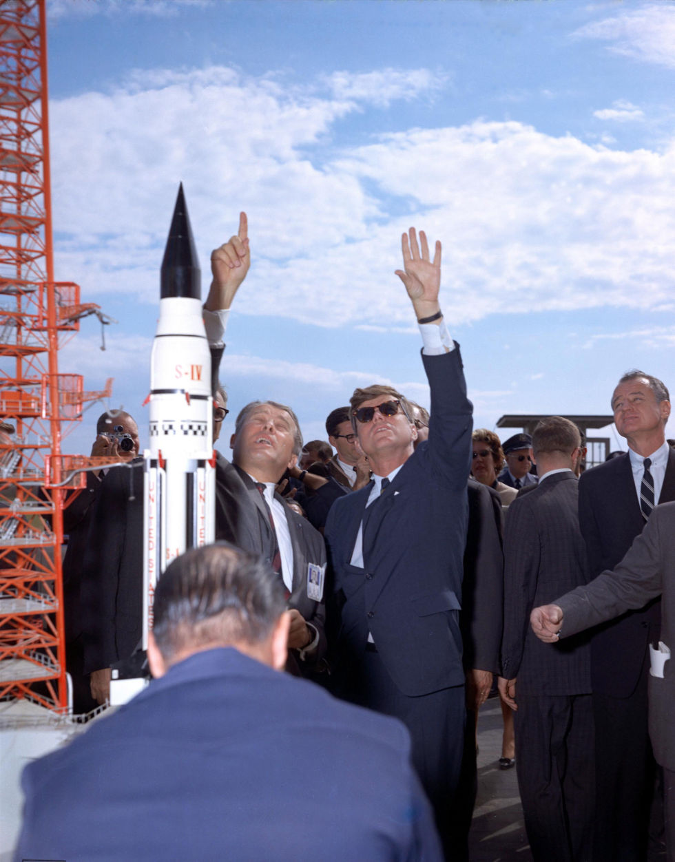 Kennedy's vision for NASA inspired greatness, then ...
