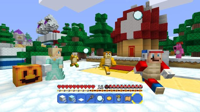 Mario makes leap to Minecraft