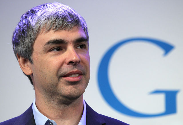 Google co-founder Larry Page is now CEO of Alphabet.
