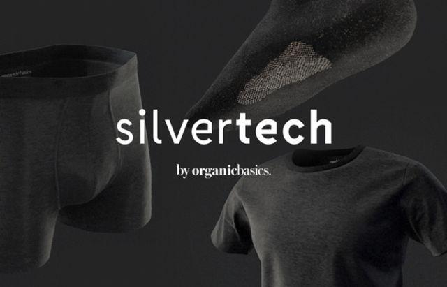 Silver-threaded underwear fights junk funk even after a week of wear