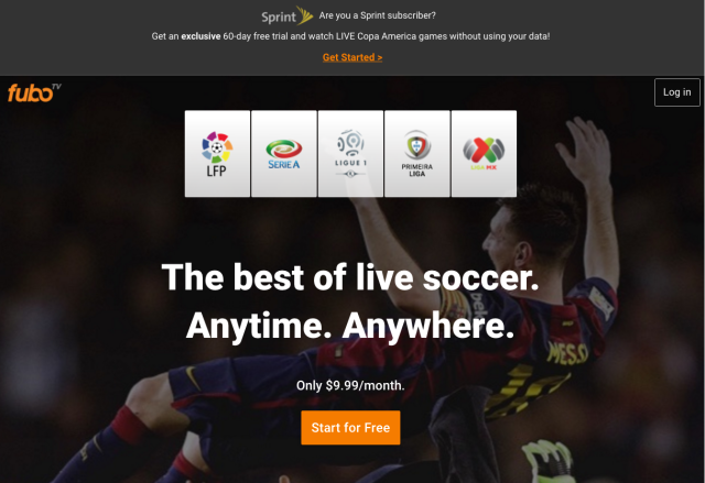 FuboTV temporarily won't count against Sprint data caps under a new promotion.