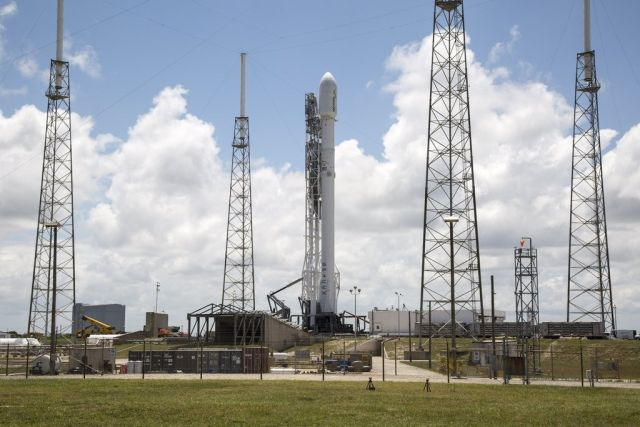 The Falcon 9 and its Thaicom satellite payload are ready to go. Will Mother Nature cooperate?