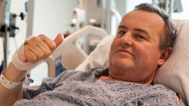 Thomas Manning, the first man in the US to receive a penis transplant.