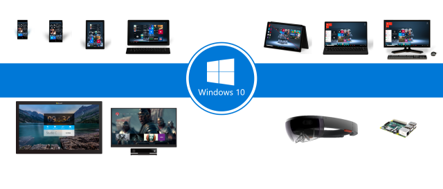 Windows 10 runs on many different kinds of hardware, from the giant Surface Hubs down to itty bitty IoT things.