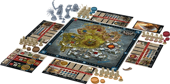 <em>Blood Rage</em> is a whole lotta game—make sure you have a big enough table.