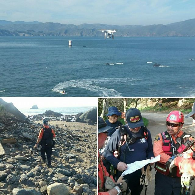 The ACSO was asked to assist in the search of a missing person in San Francisco in February 2016.