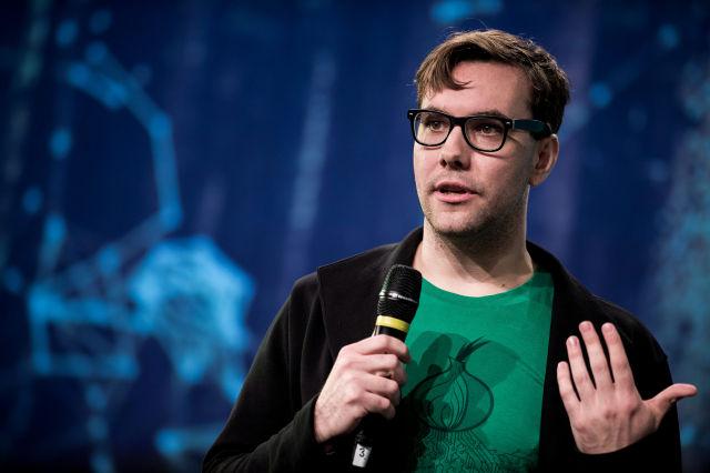 Jacob Appelbaum in Berlin in 2014.