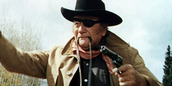 John Wayne in <em>True Grit</em>.