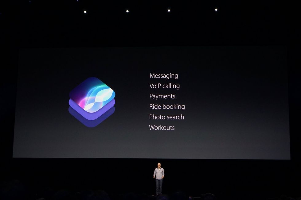The types of apps that can take advantage of the newly opened Siri.