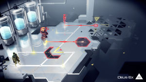 Hexagonal grid, obnoxious guards, nasty robots: it's Go time. As in, <em>Deus Ex Go</em>.