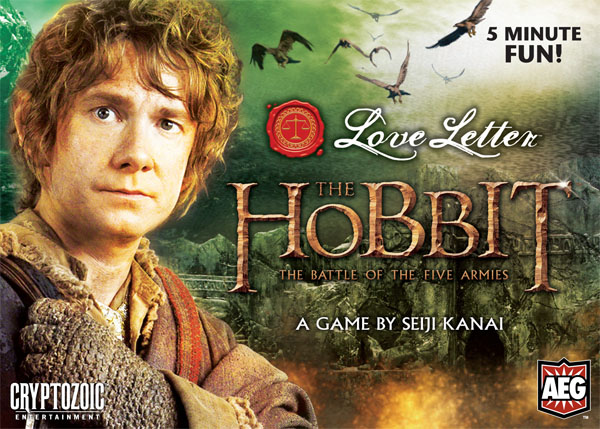 Hobbit, Batman, Archer, Star Wars—the many faces of Love Letter