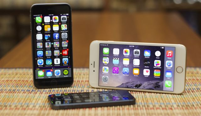the iPhone 6 and 6 Plus.