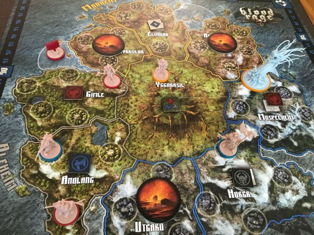 Blood Rage review: Vikings, monsters, and the end of the