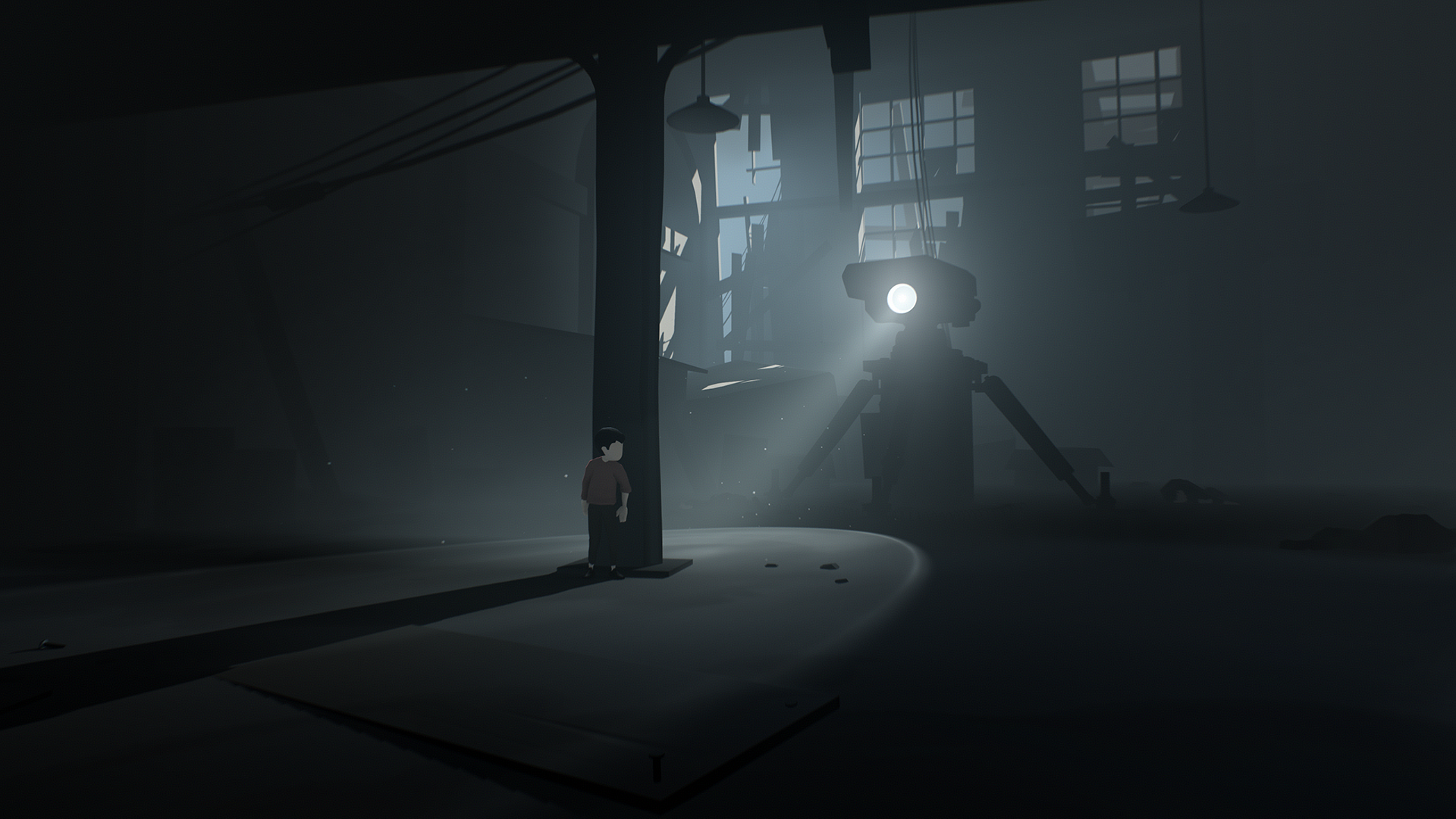 <em>Inside </em>is a moody but terrifically atmospheric puzzle-platforming game.