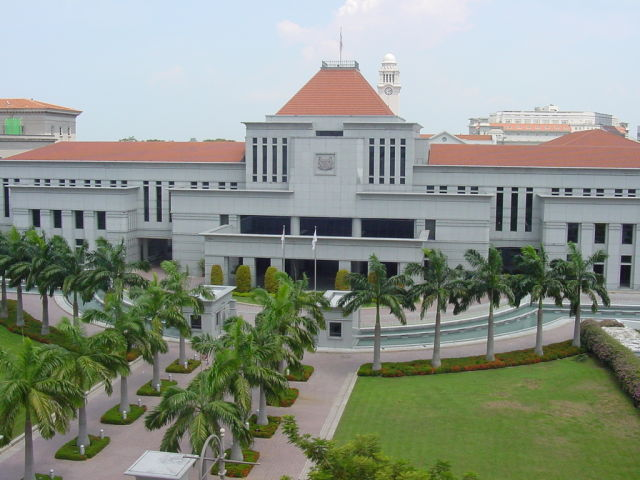 The Parliament House in Singapore.
