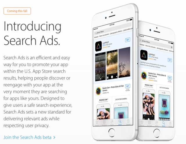 Apple is bringing search ads and other major changes to the App Store over the next few months.